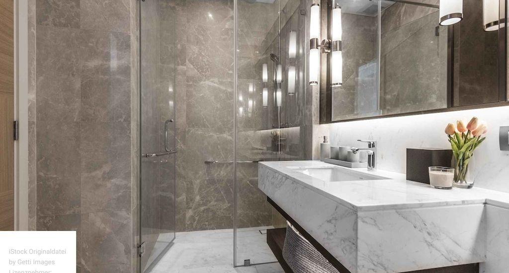 Badezimmer eines Hotels