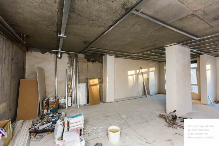 Wohnungsbau Sanierung